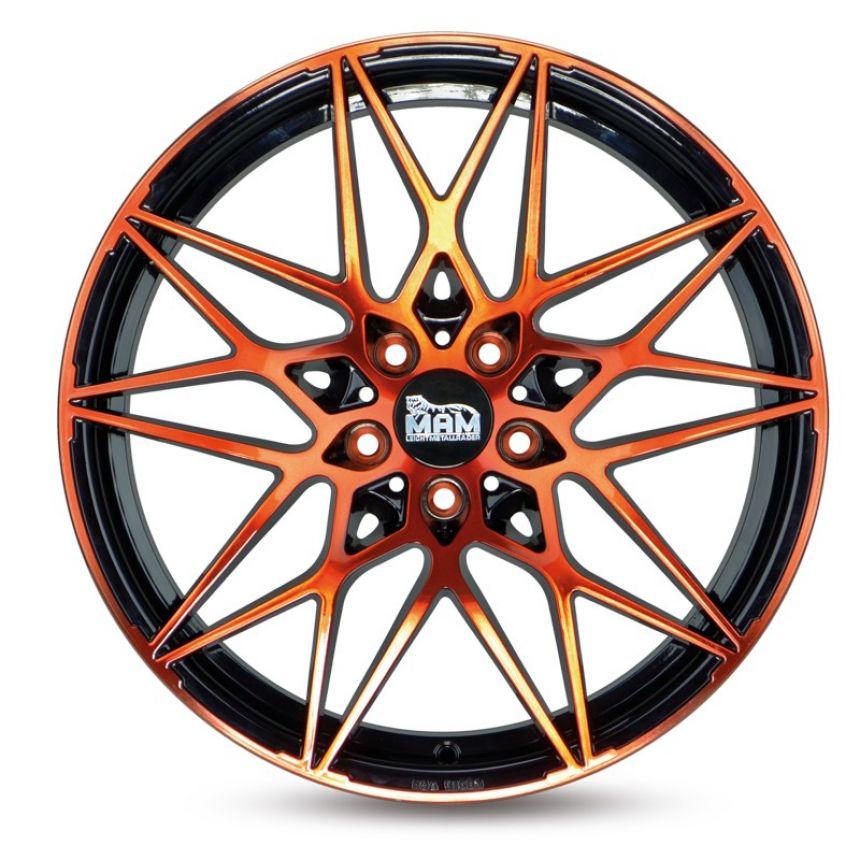 B2 Black Front Orange 8.5x19