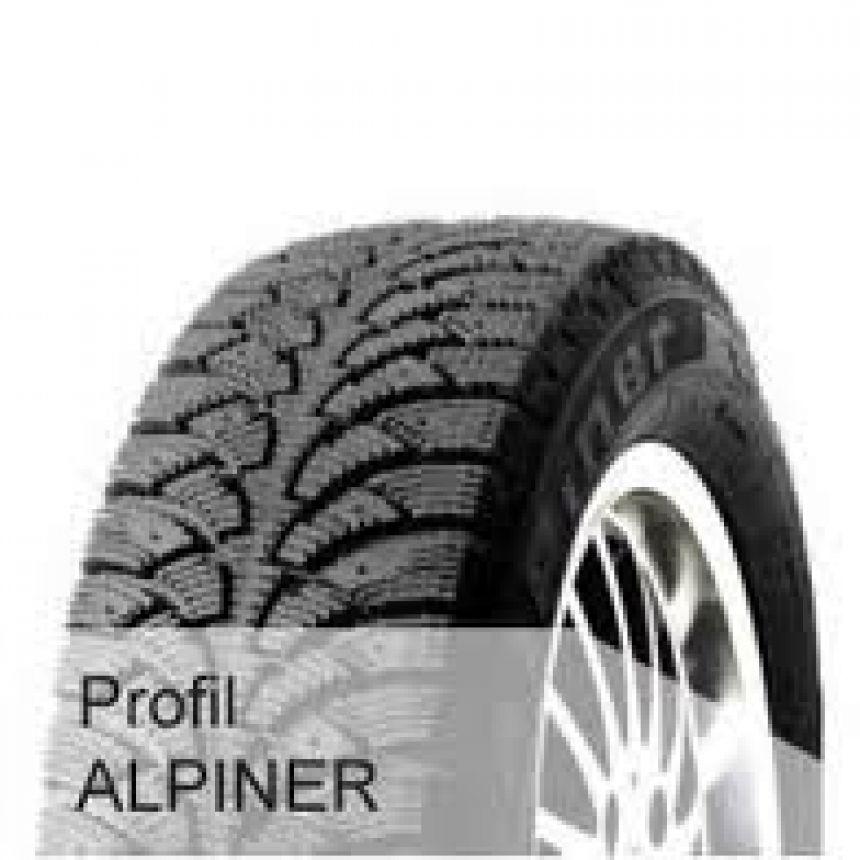 Alpiner -pinnoitettu- 175/65-15 T