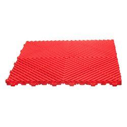 Lattialaatta, fire red 40x40cm 10x30 kpl